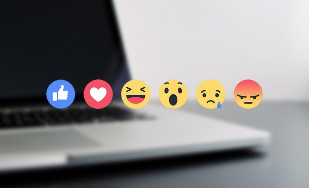 Reacciones de Facebook llegan a Messenger