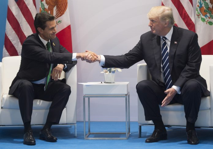 Enrique Peña y Donald Trump