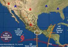 Se forman las Tormentas Greg y Don