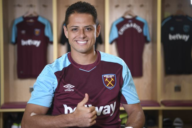 El Chicharito y el West Ham son goleados por el Manchester City