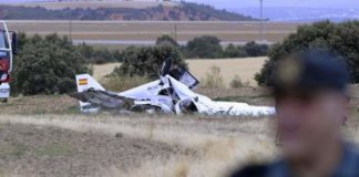 accidente de avioneta en Córcega