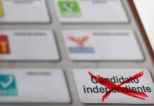 blindar candidaturas independientes