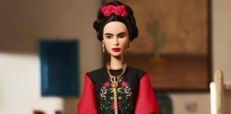 frida kahlo barbie mattel