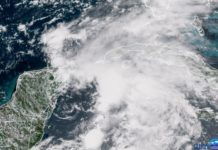 tormenta tropical Alberto