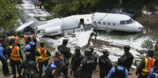 accidente avión Honduras