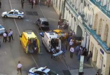 accidente taxi Rusia