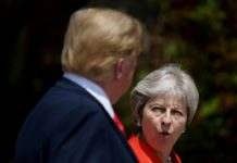 Trump May demandar UE Brexit
