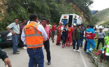 accidente bus Perú