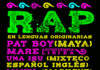 rap lenguas originarias