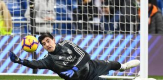 portero Real Madrid Thibaut Courtois lesión muscular