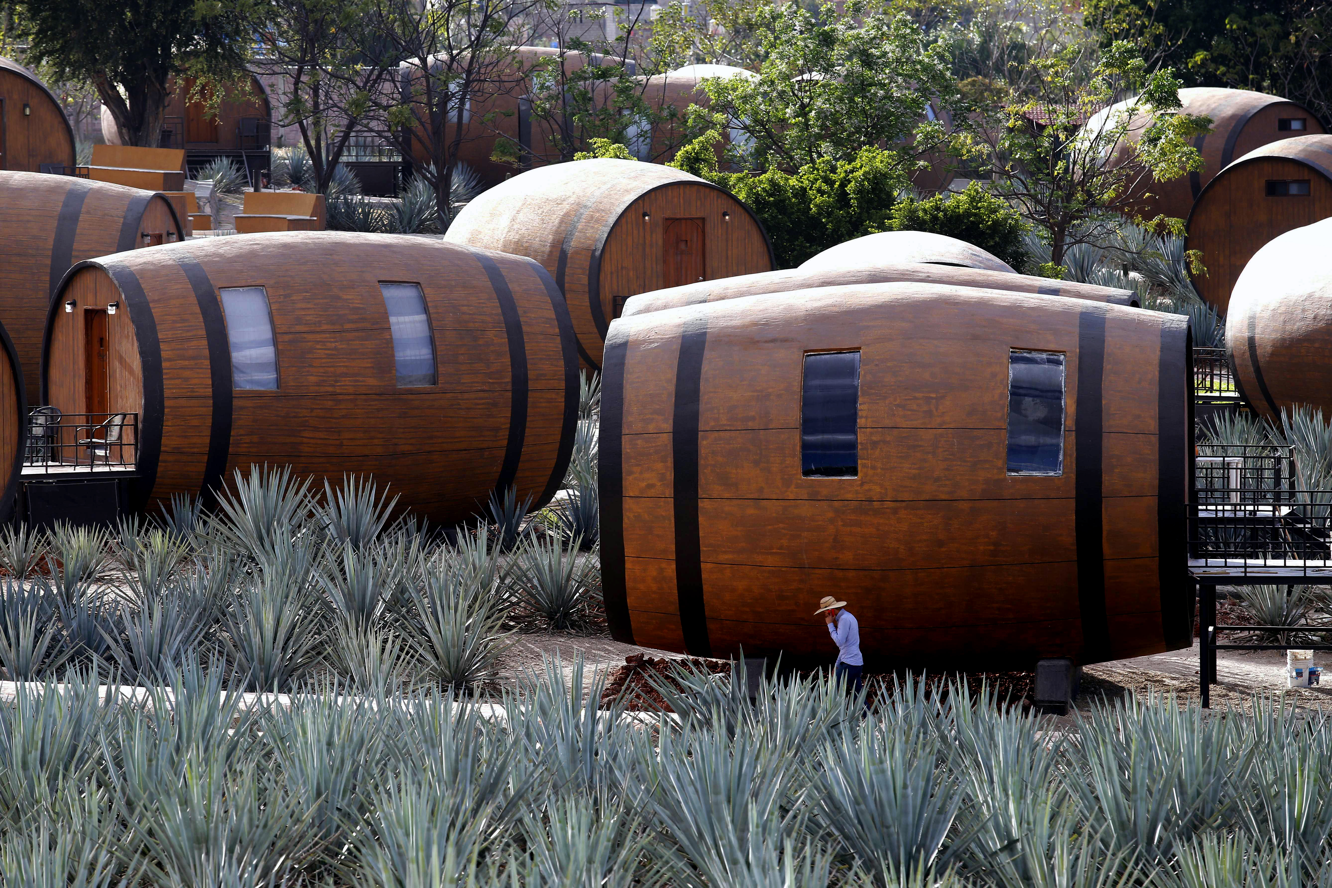 hotel barriles Tequila