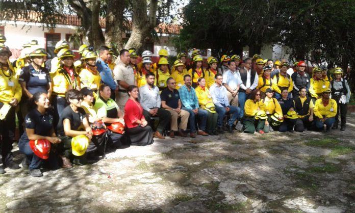 curso combate forestal
