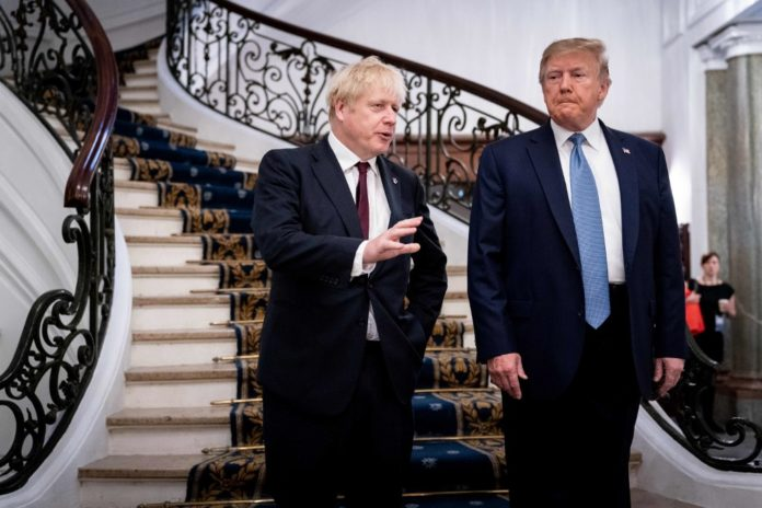 Boris Johnson Donald Trump