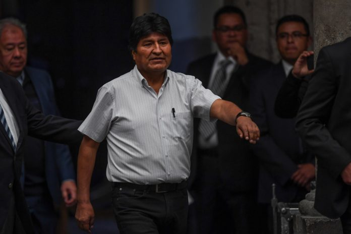 Evo Morales Interpol