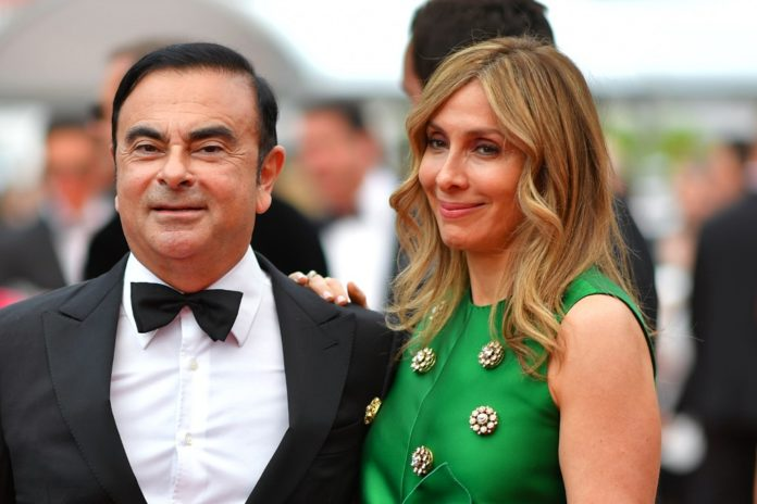 esposa Carlos Ghosn