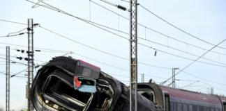 Accidente tren Italia