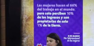 Mujeres luchan