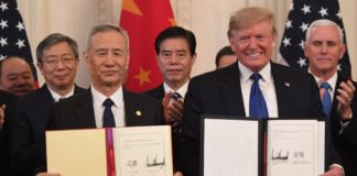 acuerdo China Estados Unidos