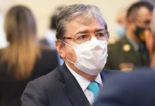 ministro colombiano de Defensa